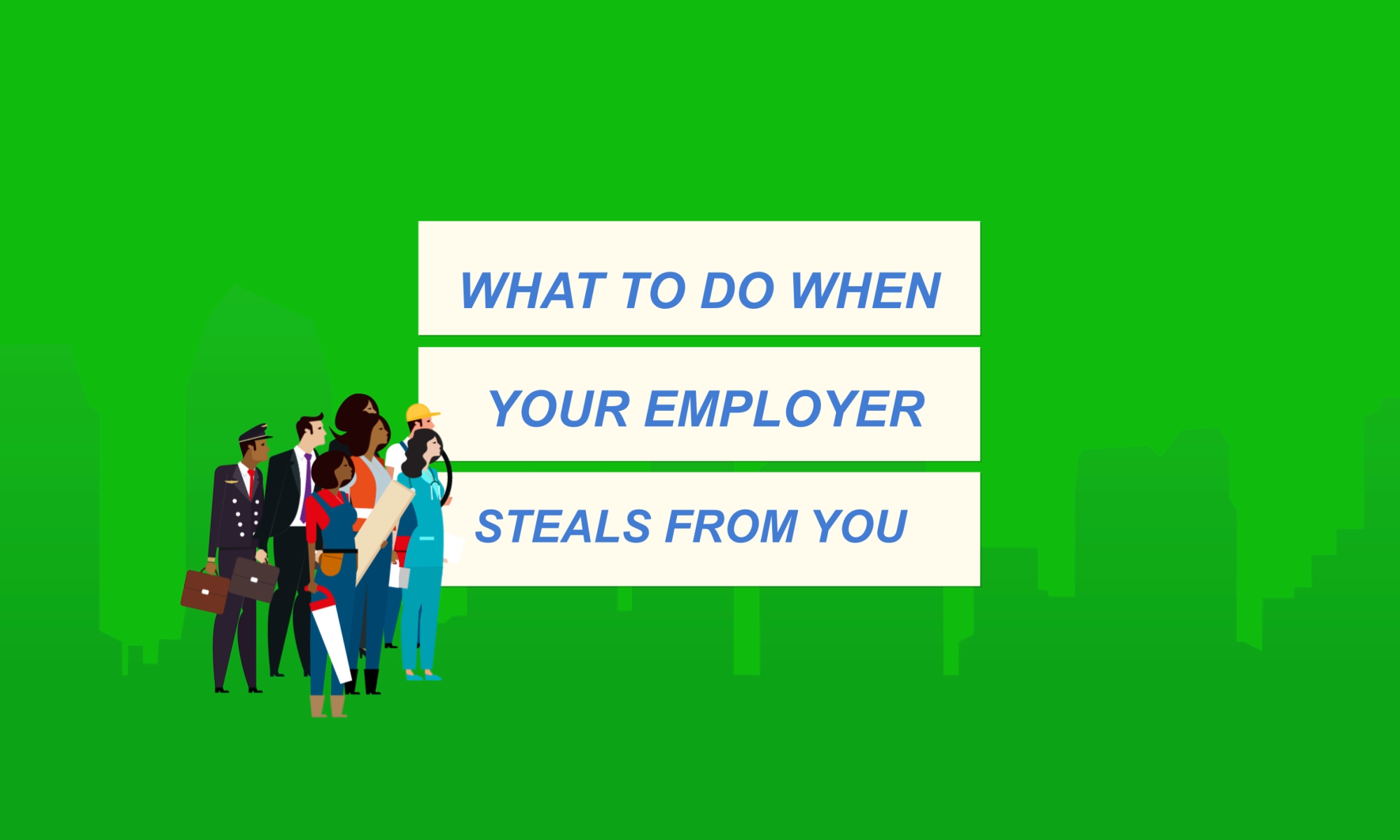 My Employer Stole From Me